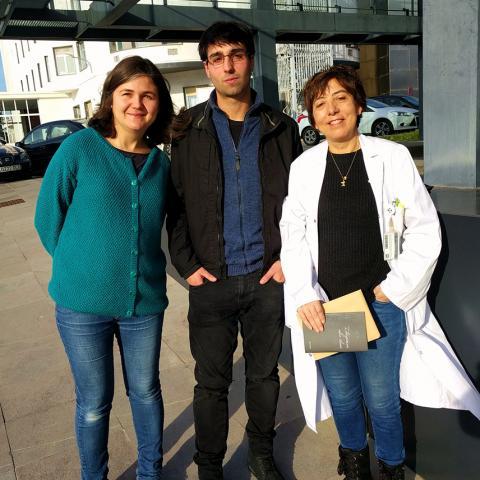 "Biodonostia will receive part of the money raised from the sales of the book ""Ilargiaren alde iluna"""
