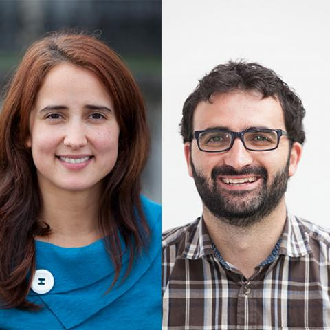 Monica Carril and Fernando López Gallego, Emerging Investigators in Materials Chemistry